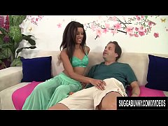 Ebony Minx Vivacious Verta Is Pounded by a Long...