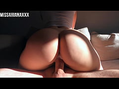 Amateur Babe Passionately Rides Cock - CREAMPIE - Cowgirl\/Squat Riding