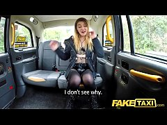 Fake Taxi Horny hot student desires drivers big...