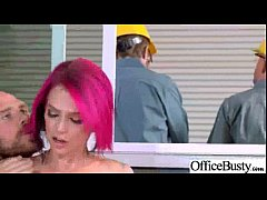 Intercorse Sex Action With Busty Horny Office Cute Girl (anna bell peaks) movie-04