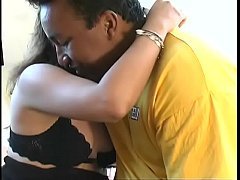 Latina screams in passionate love making session in her bedroom