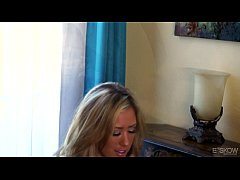 Capri Cavanni Helps A Guy With A Blowjob