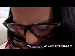Simplyanal - Super cute Apolonia gets her tight ass filled with dick