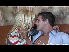 Holly gets fucked by her sons friend