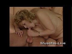 Clip sex Blonde cleaning lady fucked on the couch