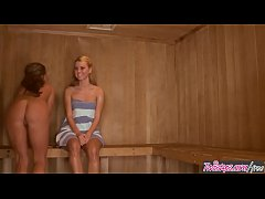 When Girls Play - (Jessie Rogers, Melissa XoXo) Love In The Sauna - Twistys