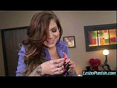 Hot Lez Girl Get Punish With Toys By Mean Lesbo...