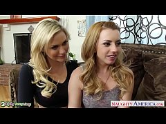 Beauty blondes Lexi Belle...