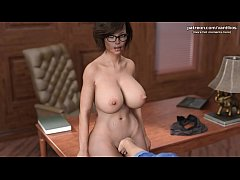 My Cute Roommate | Hot mom with big tits gets h...