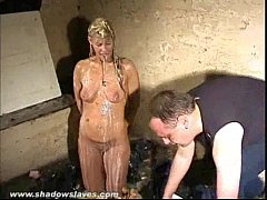 Disgusting humiliation of Crystal Lei and messy...