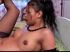 Petite french asian whore...
