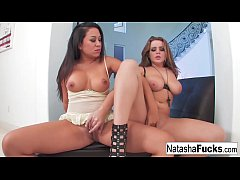 Natasha Nice fucks her hot friend Kami
