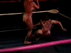 Nude Mixed Wrestling - Jennifer Tia Vs Mike And Jake - 1