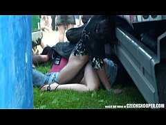 Czech Snooper - Public Sex During Concert