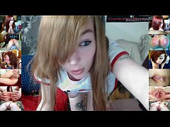 thumb gamergirlroxy in old and young deepthroat creampie cam show