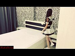 Insanely Hot French Maid Gets Fucked Roughly By The Tenant - Natalissa