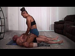 Kendra Allure grinds on me until I cum