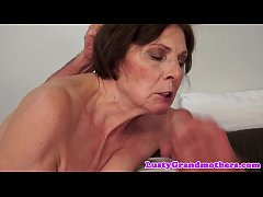 Bigass granny pounded in cowgirl pose