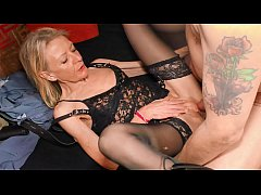 XXX OMAS - Blonde German granny gets fucked and...