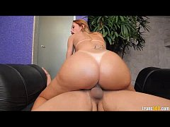 Busty Shemale Barbara Paes Has Her Ass Destroyed by Huge Cock