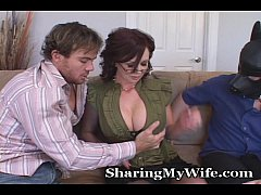 Wife Puts Hubby In His Space