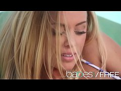 (Nicole Aniston, Xander Corvus) - Young couple have some Poolside sex - BABES