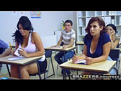 Ashley Downs and Emma Leigh fucking in school