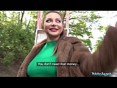 Clip sex Public Agent Anna Polina gets her perfect boobs out for a fucking