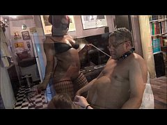 Hot MILF-tiny White slut won't let old dude cum-NEW! Full video now on RED!