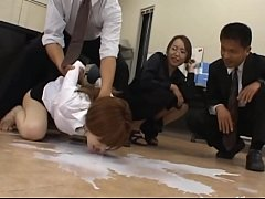 2-Asian secretary from Tokyo with analhole milk-2015-08-13-07-55-018