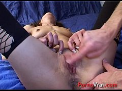 Incredible Squirt accidental Femme fontaine !! French amateur