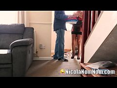 Mature Wife Fucks The Pizza Delivery Boy
