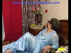 Russian chubby mature get...