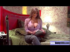 (Darla Crane) Lovely Horny Housewife With Bigti...