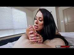 Super hot busty MILF stepmom smashed by a horny...
