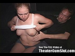 Teen Tammi Ass Fucked In a Porno Theater