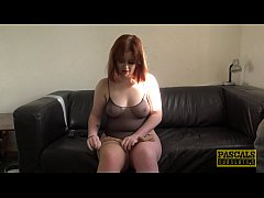 Redhead subslut Kitty Misfit roughed up by Pasc...