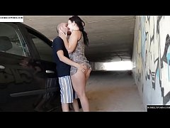 Hot fucked with Pamela in a road tunnel. SAN369