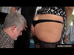 Clip sex Mature Tart Vanessa Videl Is Gangbanged by Some Horny Guys