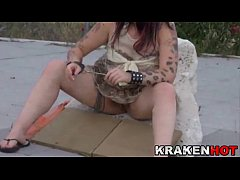 thumb housewife milf blowjob outdoor and pissed homemade