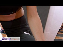 thumb fitnessrooms groups yoga session ends with a sweaty creampie