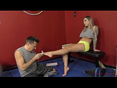 Mean Bitch in the Gym - Karma RX - Femdom