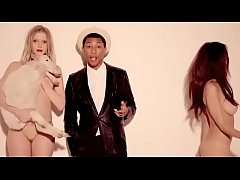 Robin Thicke - Blurred Lines ft TI and Pharrell Williams Unrated Version Warning Must Be 18 years Or Older To View - World Star Uncut