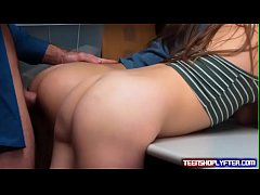 Two cute teens Charity Crawford and Zoey Laine ...