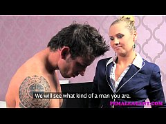 FemaleAgent Arrogant stud put...