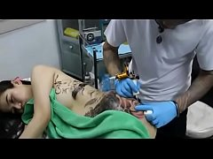 Body painting 69 - Tattoo process GIRL http:\/\/thepornplanet.blogspot.in\/