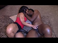 Black Beauty with Big Booty fucked (Interracial)