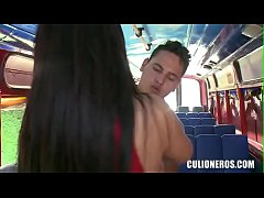 CULIONEROS - Big Booty Latina Fucks In Public!