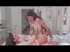 Rave partygirl cheating on her girlfriend - Two scene in one! - Gia Paige,  Adria Rae and Kissa Sins
