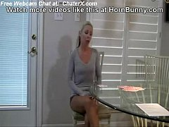Dad and daughter play strip poker - HornBunny.com free Part1